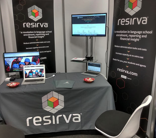 Resirva wows the English UK StudyWorld 50 conference